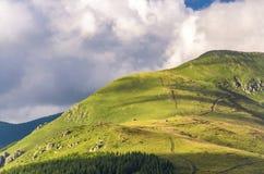 Montagne de planina de Stara en Serbie Photos stock