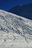 Montagne de poudre image stock