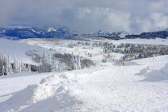 Montagne de poudre, Utah Photos stock