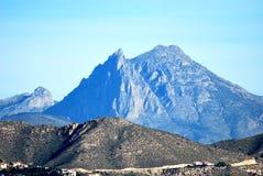 Montagne de Puig Campana Photos libres de droits