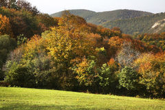 Montagne de Radan près de Prolom Banja serbia photo stock