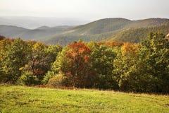 Montagne de Radan près de Prolom Banja serbia photos stock