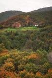 Montagne de Radan près de Prolom Banja serbia image stock