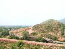 Montagne de Rajgir Photo libre de droits