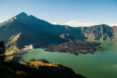 Montagne de Rinjani Photos stock