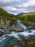Montagne de rivière Image libre de droits