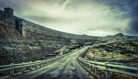 Montagne de route en Serra da Estrela photo libre de droits