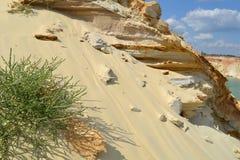 Montagne de sable Photo libre de droits