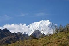 Montagne de Salkantay photo libre de droits