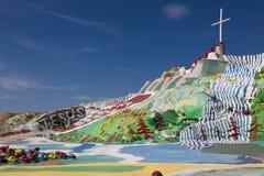 Montagne de salut, Niland, la Californie images libres de droits