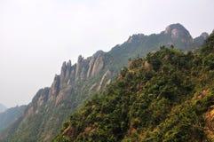 Montagne de San-Qing-San Image libre de droits