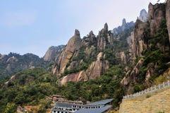 Montagne de San-Qing-San Photographie stock libre de droits