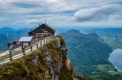 Montagne de Schafberg photographie stock libre de droits