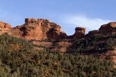Montagne de Sedona Photographie stock libre de droits