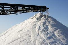 Montagne de sel Photo libre de droits