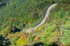 Montagne de ShenNongJia Tianyan en automne Photo stock