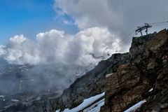 montagne de siffleur Photos libres de droits