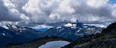 montagne de siffleur Image libre de droits