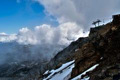 montagne de siffleur Photos stock