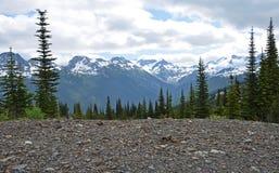 Montagne de siffleur, Canada Images stock