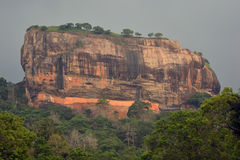 Montagne de Sigiriya photo libre de droits
