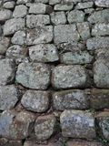 Montagne de Sigiriya, photo de mur de briques près, fond, texture images libres de droits
