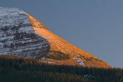 Montagne de soleil Image stock