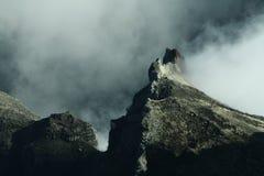 Montagne de Stegosaurus image libre de droits