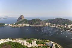 Montagne de Sugarloaf dans Rio de Janeiro Photographie stock libre de droits
