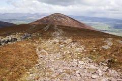 Montagne de Sugarlow dans le comté Waterford photographie stock libre de droits