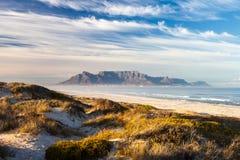Montagne de table de Cape Town photographie stock libre de droits
