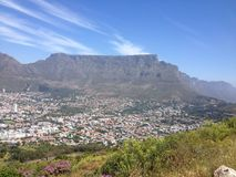 Montagne de table de Cape Town Photo stock