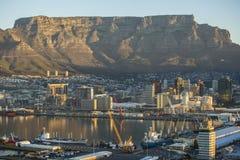 Montagne de table de Capetown Afrique du Sud Image libre de droits