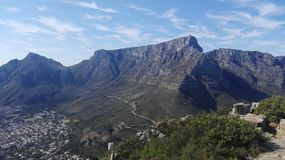 Montagne de Tableau, Cape Town Images stock