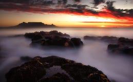 Montagne de Tableau, Capetown Photo libre de droits