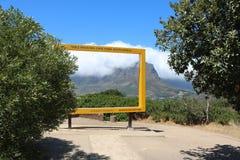 Montagne de Tableau, Capetown, Afrique du Sud Photographie stock libre de droits