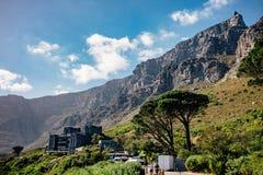 Montagne de Tableau, Capetown, Afrique du Sud Images stock
