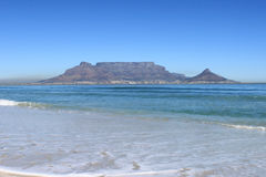 Montagne de Tableau, Capetown, Afrique du Sud Photographie stock