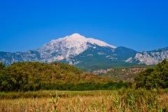 Montagne de Tahtali Image stock