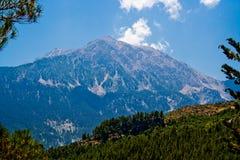 Montagne de Tahtali Photographie stock