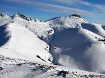 Montagne de Tataru dans Carpathiens Photo libre de droits