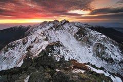 Montagne de Tatra Photographie stock libre de droits