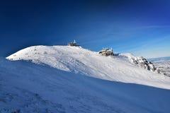 Montagne de Tatra d'hiver en Pologne Kasprowy Wierch Image libre de droits