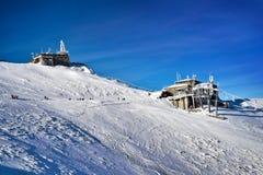 Montagne de Tatra d'hiver Kasprowy Wierch Photos libres de droits
