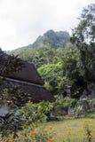 Montagne de temple Photographie stock