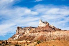 Montagne de temple Photos libres de droits