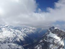 Montagne de Titlis Photos stock