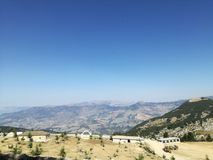 Montagne de Tomorri Images stock