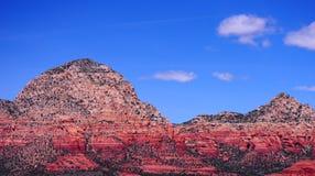 Montagne de tonnerre de Sedona Image libre de droits