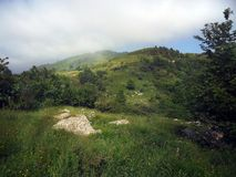 Montagne de Traso, une destination à joindre ! photo libre de droits